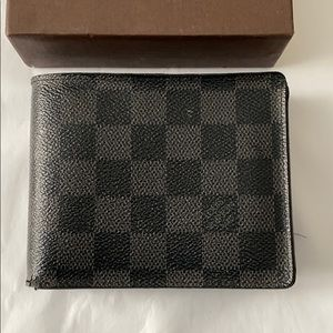 Louis Vuitton Damier Florin Men's Wallet
